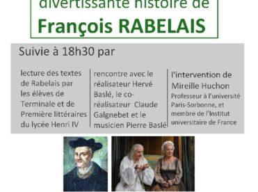 La très excellente & divertissante histoire de François Rabelais