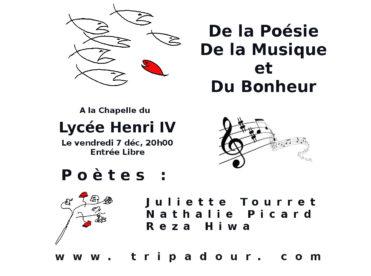 De la poésie, de la musique et du bonheur