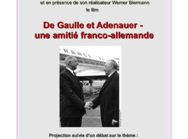 De Gaulle et Adenauer - une amitié franco-allemande