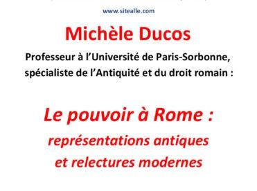 Le pouvoir à Rome : représentations antiques et relectures modernes