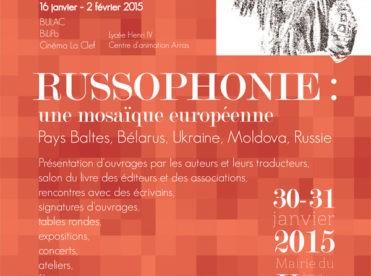 Journées du livre russe & des littératures russophones