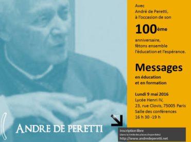 Rencontre avec André de Peretti