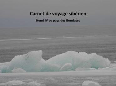 Carnet de voyage sibérien