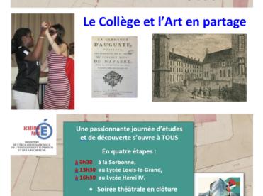 Le Collège et l'Art en partage