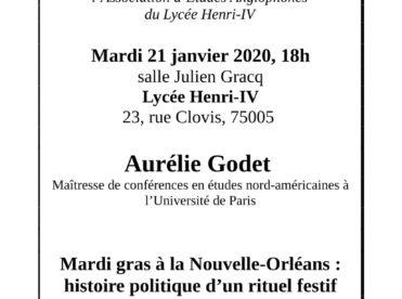Mardi gras à la Nouvelle-Orléans : histoire politique d'un rituel festif