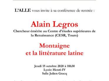 Montaigne et la littérature latine