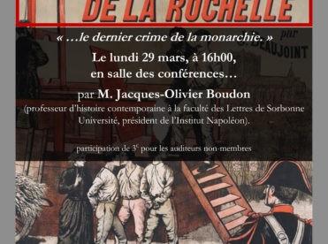 Les Quatre Sergents de La Rochelle, le dernier crime de la monarchie
